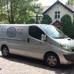 Premier Oven Clean Company Van