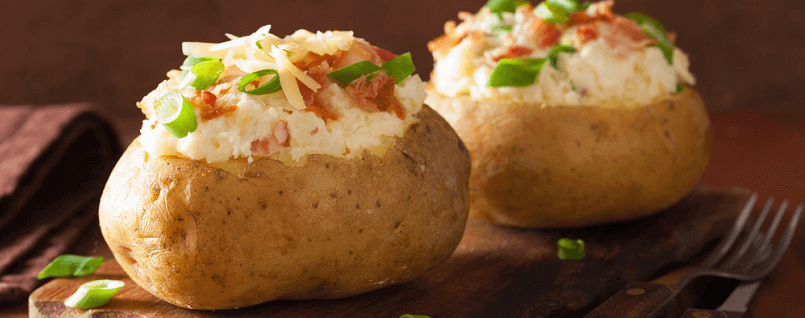 Clean Oven Baked Potatoes