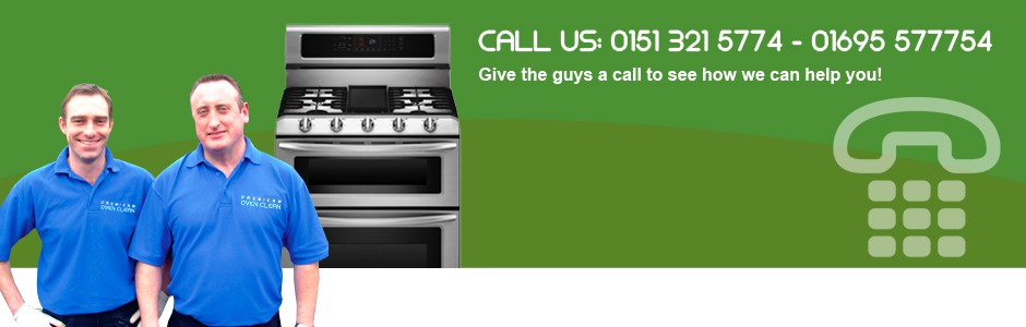 Contact Premier Oven Clean banner